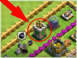 strategy penempata Cannon Clash of Clans