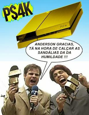 preço do ps4 no Brasil