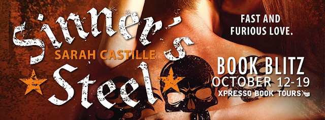 Book Blitz: Sinner's Steel by Sarah Castille