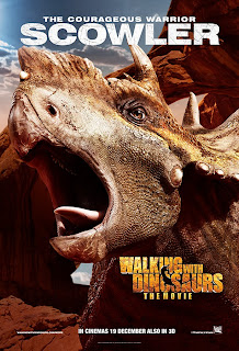 scowler  in Walking with Dinosaurs official character movie poster malaysia release