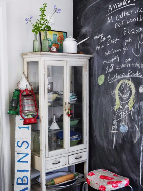 vintage medicine cabinet via small acorns blog