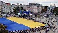 Ucrania celebra 25 años de independencia