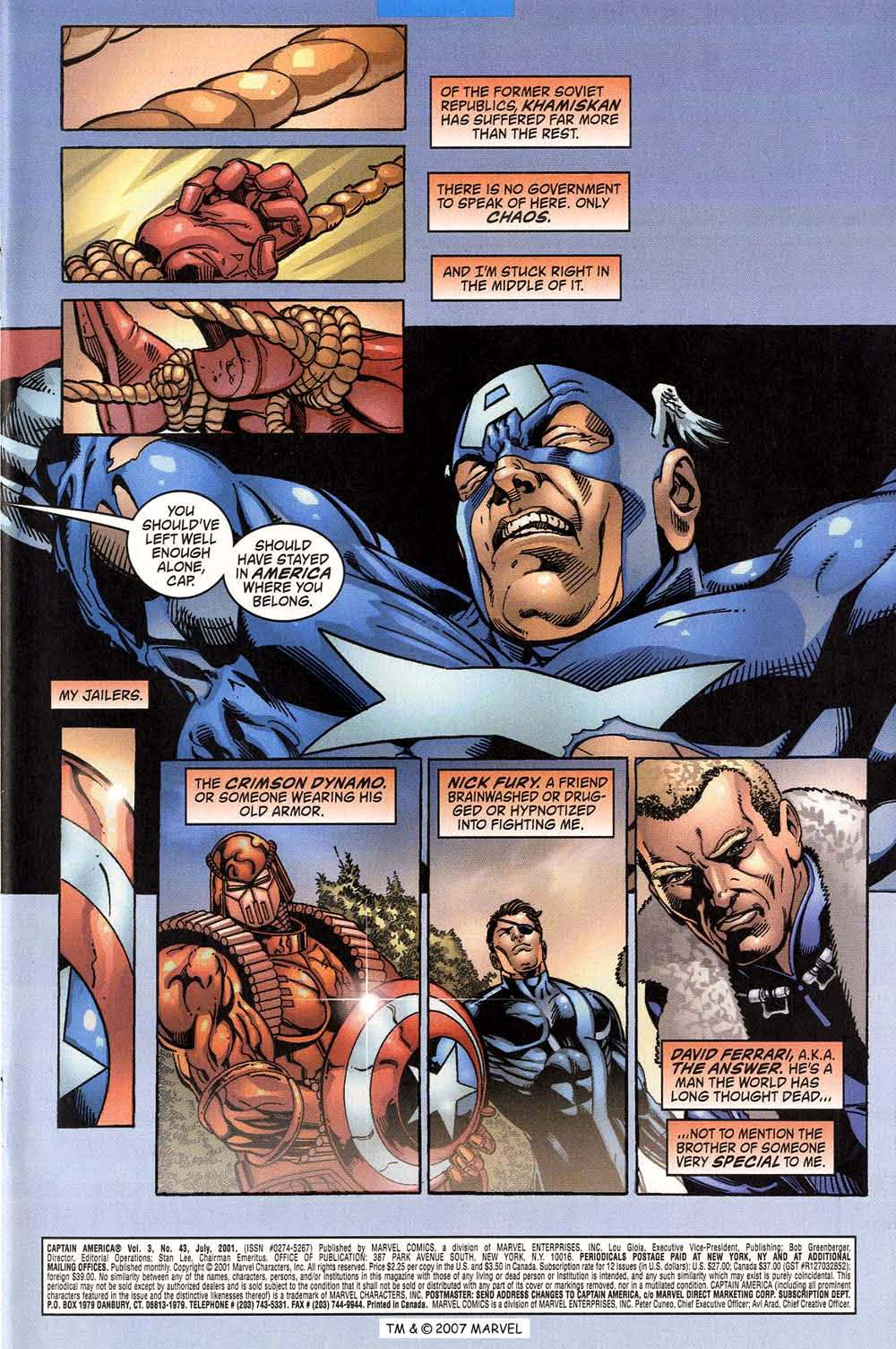 Captain America (1998) Issue #43 #50 - English 3