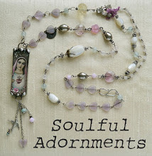 Create this beautiful pendant with Terri (Artful Affirmations)