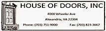 House of Doors - Alexandria, VA