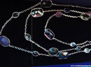 Accessiores: Swarovski Armband & Kette - www.annitschkasblog.de