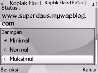 Koplak Flood Enter Left Room Nimbuzz for Java Symbian Screenshot0044
