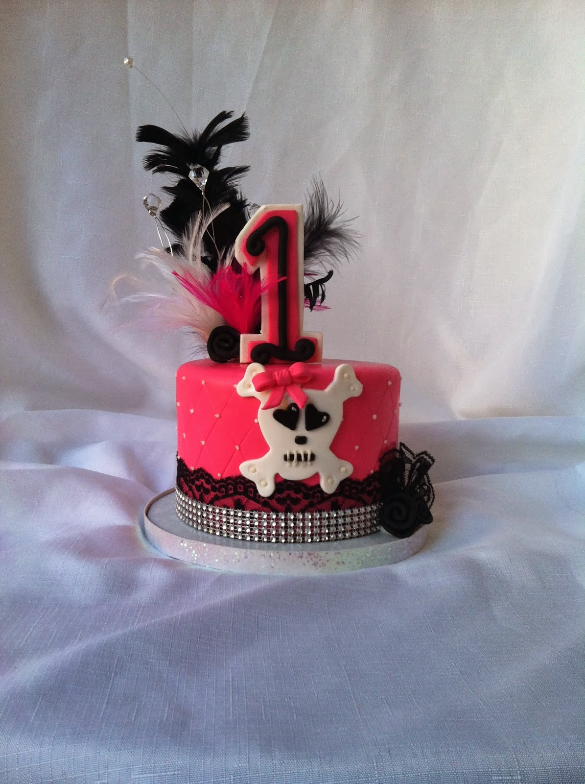A Little Something Sweet: Pink Pirate Cake Topper!
