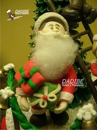 Papa Noel  en cerámica