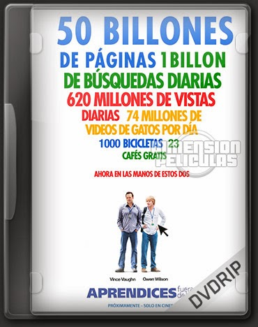 The Internship (DVDRip Ingles Subtitulada) (2013)