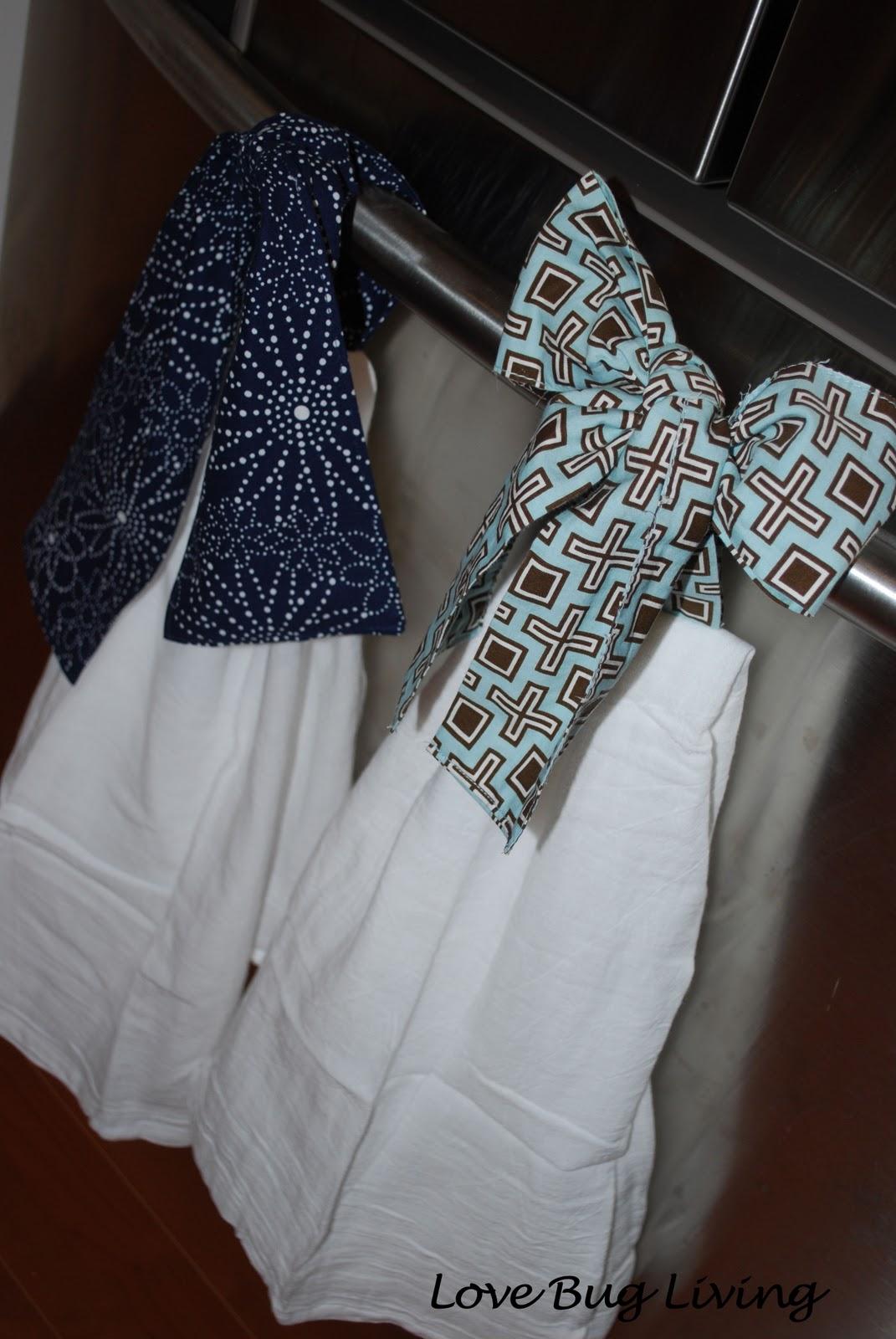 Kitchen Towel Craft Love Bug Living Hanging Kitchen Towel