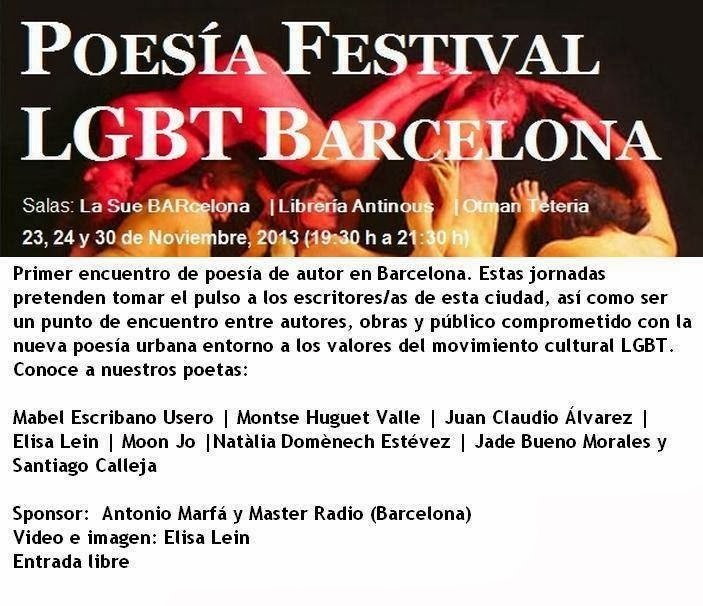 POESIA LGTB BARCELONA