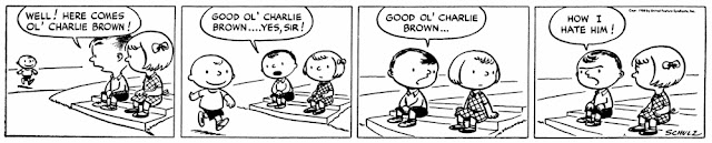Peanuts comic strip, Oct. 2, 1960, Charles Schulz, Snoopy, Charlie Brown