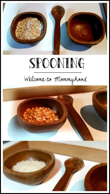 Montessori inspired all about grains printables, practical life, and sensorial activities by Welcome to Mommyhood #montessori, #sensorial, #preschoolactivities, #montessoriactivities, #grains, #freeprintablesforkids