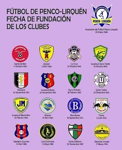 ESCUDOS DE LOS CLUBES DE PENCO