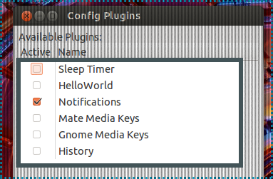 RadioTray Plugin Collection