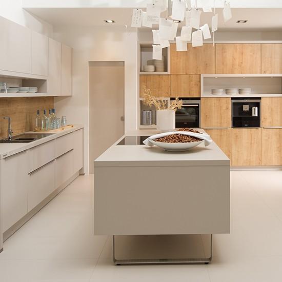 Decoraci n en la cocina tendencia por lo natural kansei cocinas servicio profesional de - Nolte cocinas ...
