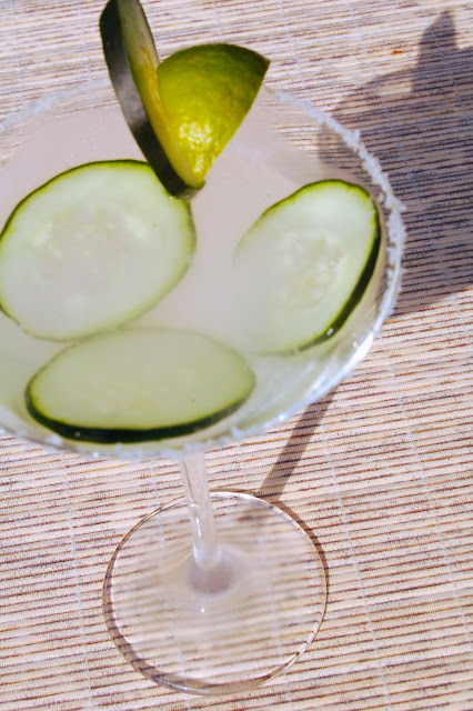Cocktail Month: Cucumber Chill Martini | www.kettlercuisine.com