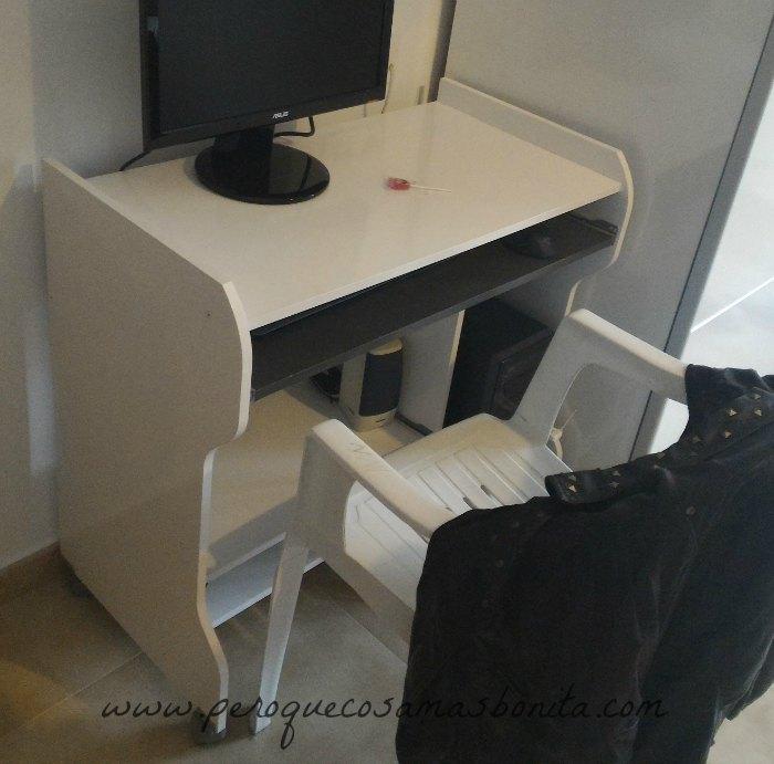 Pintar muebles de melamina fotos pintar melamina con - Lacar una mesa ...