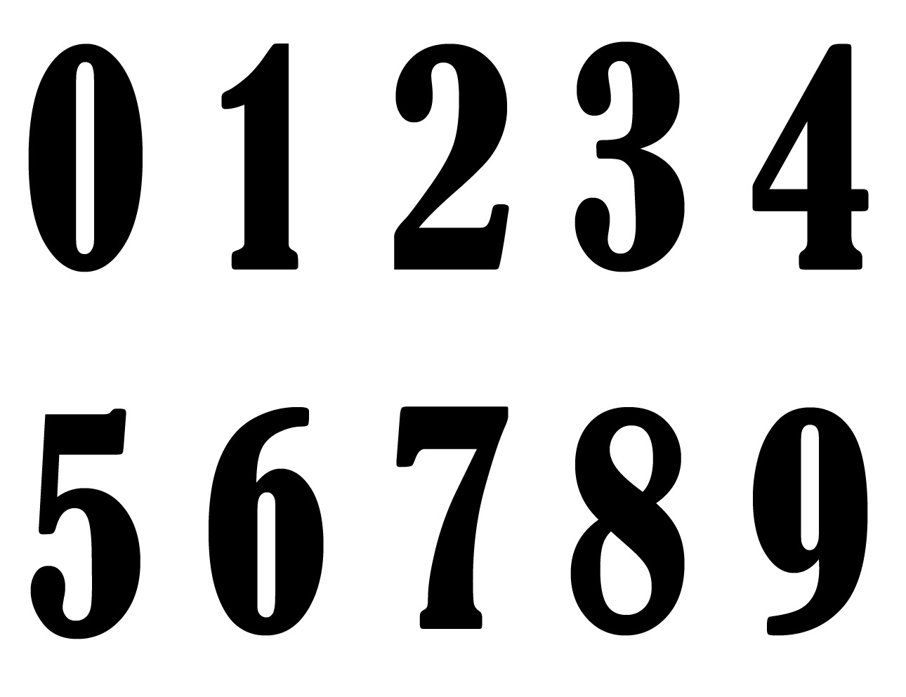 Digits spelling number poetry, Nadazero, Unaone, Bissotwo ...