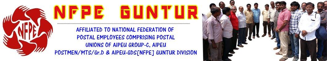 NFPE GUNTUR DIVISION