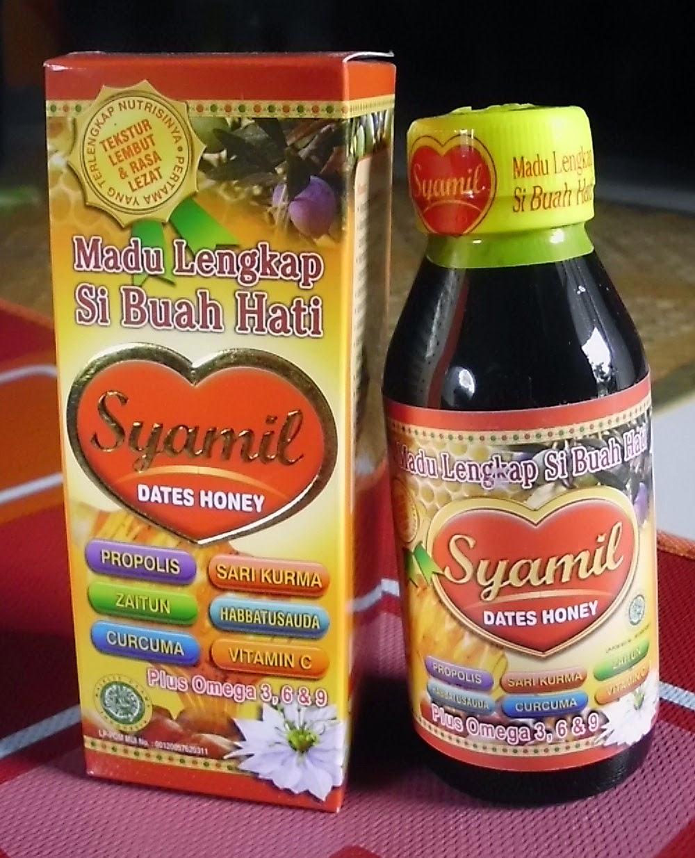 Islamic Herbal Store Jakarta Madu Lengkap Si Buah Hati Syamil Dates Honey Nama Produk Anak Berat 250 Gr Produksi Mitra Ihsan Sejahtera Bogor Indonesia Harga Rp16000 Isi 125 Ml