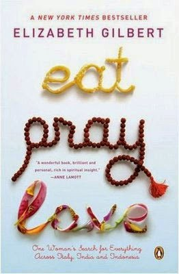 Eat, Pray, Love book cover