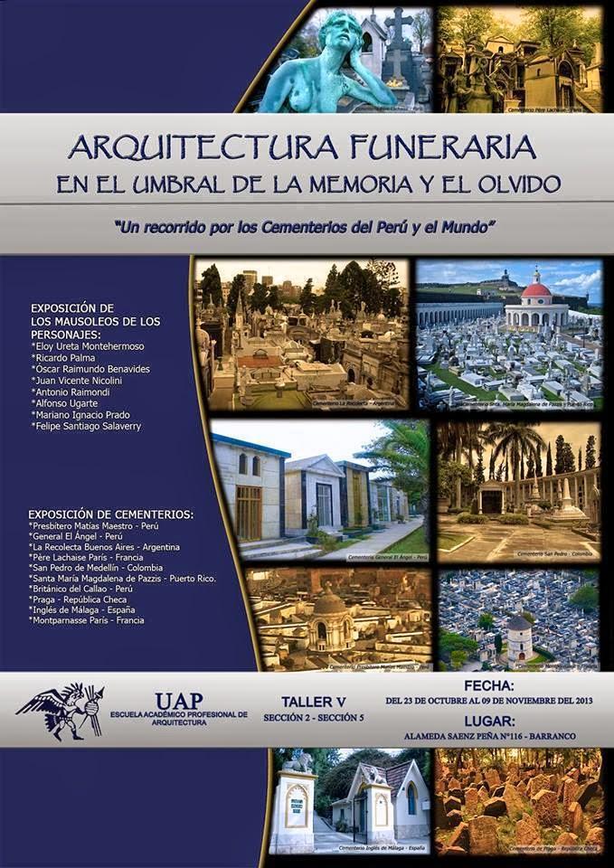 Red iberoamericana de cementerios patrimoniales for Arquitectura funeraria