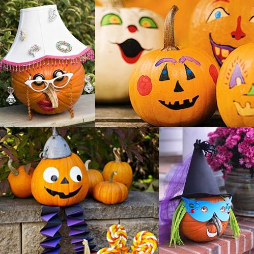 Arte y arquitectura calabazas originales para halloween - Decoracion calabazas halloween ...