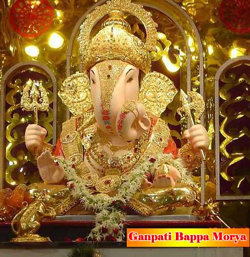 Ganpati Bappa Morya.....GANPATI FESTIVAL GREETINGS