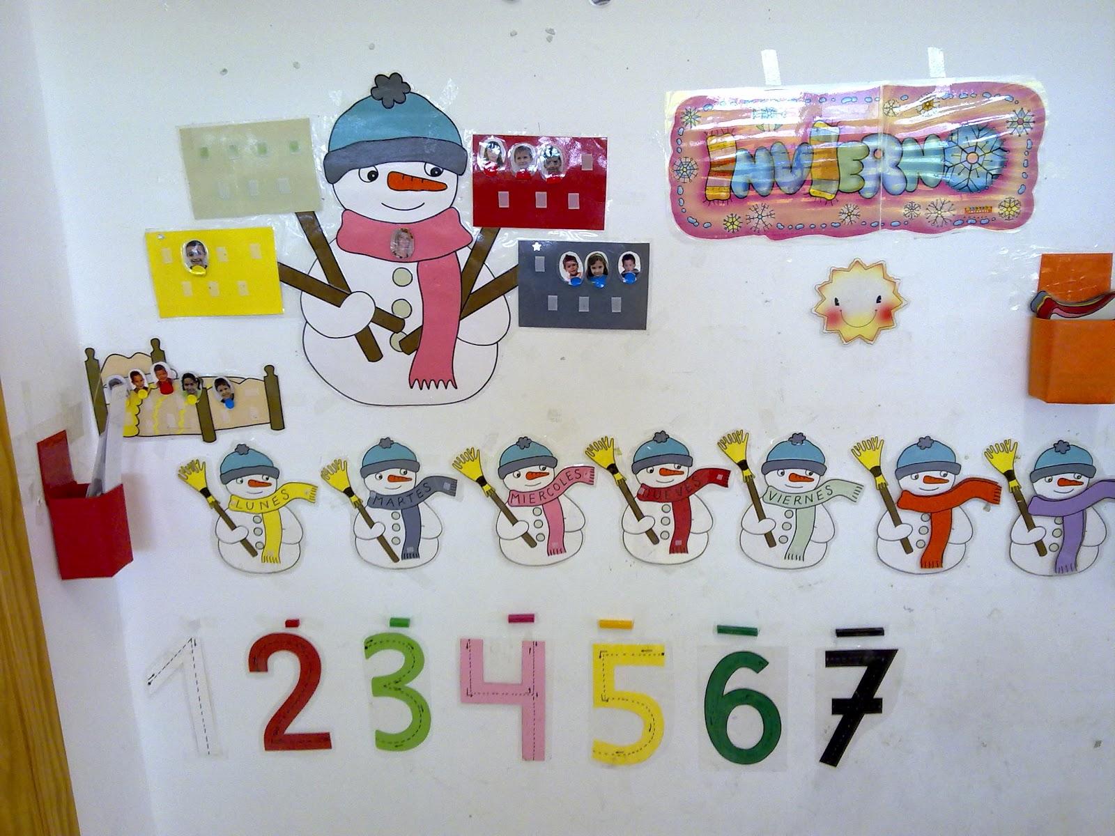 Decoracion Invierno Para Jardin Infantil ~ Quieres que te lo cuente otra vez? febrero 2012