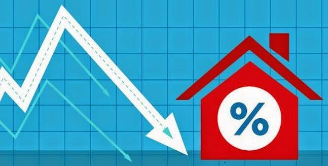 Baisse des taux de crédit immobilier