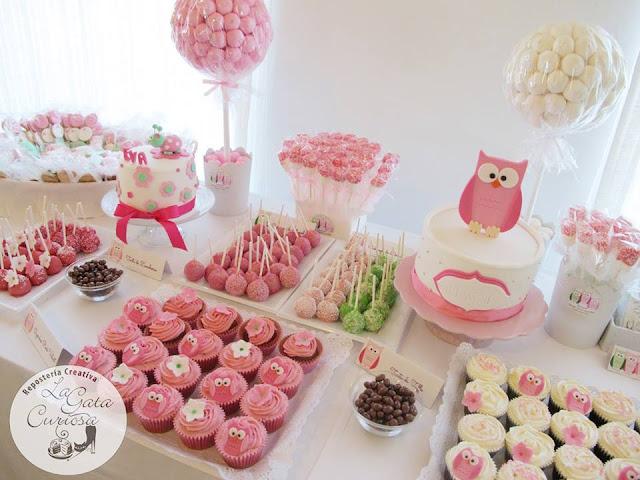 La gata curiosa mesa dulce para comunion angel lucia y el for Mesa dulce para bautismo