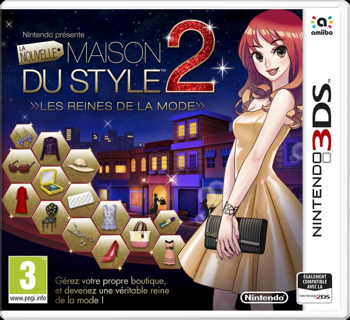 Nintendo-3DS, La-Maison-du-Style, La-Nouvelle-Maison-du-Style-2, reines-de-la-mode, La-Maison-du-Style-2, La-Nouvelle-Maison-du-Style-2-les-Reines-de-la-Mode, pac-nintendo, pac-nintendo-3ds, 3ds, du-dessin-aux-podiums, dudessinauxpodiums