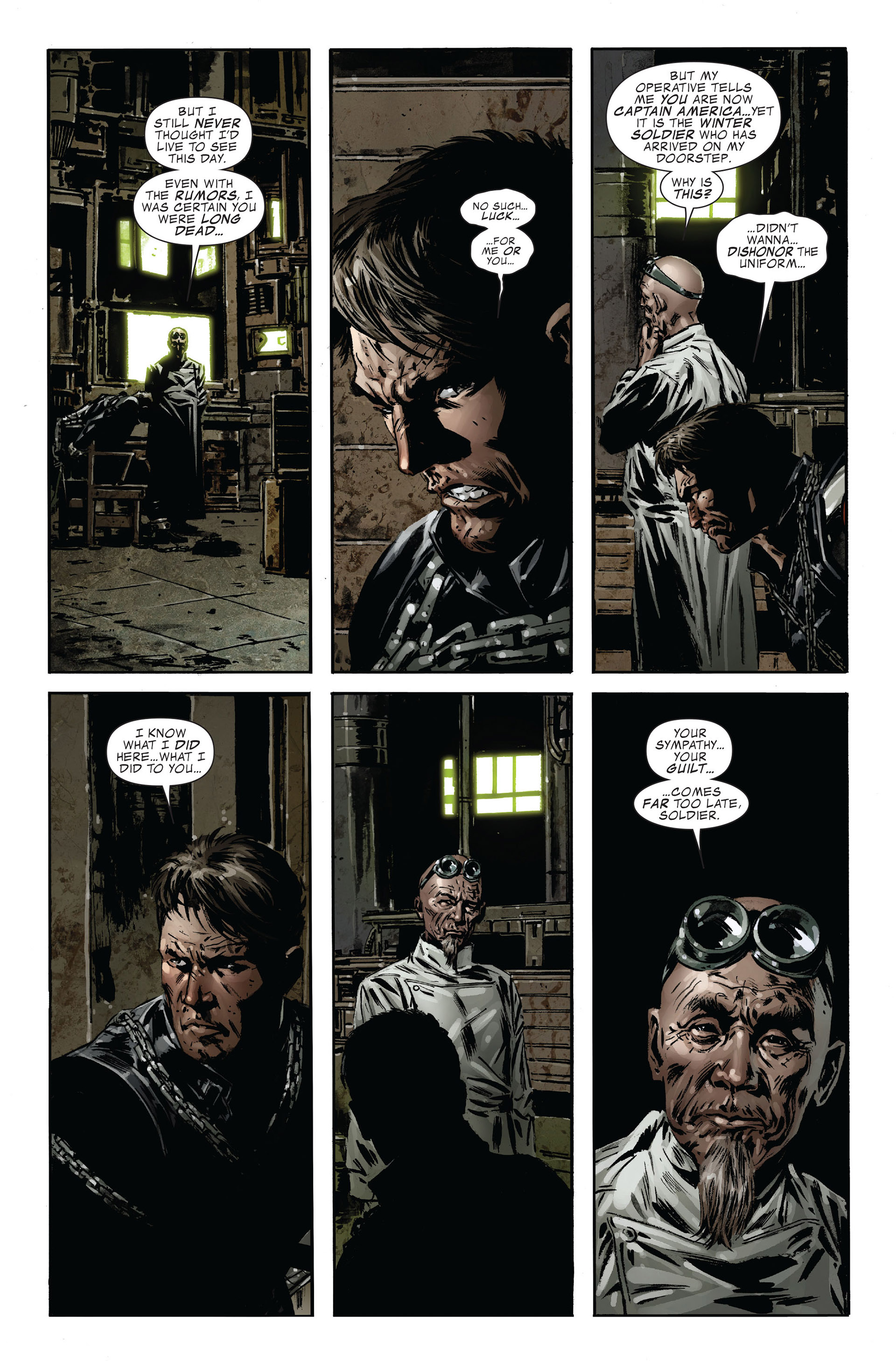 Captain America (2005) Issue #47 #47 - English 16