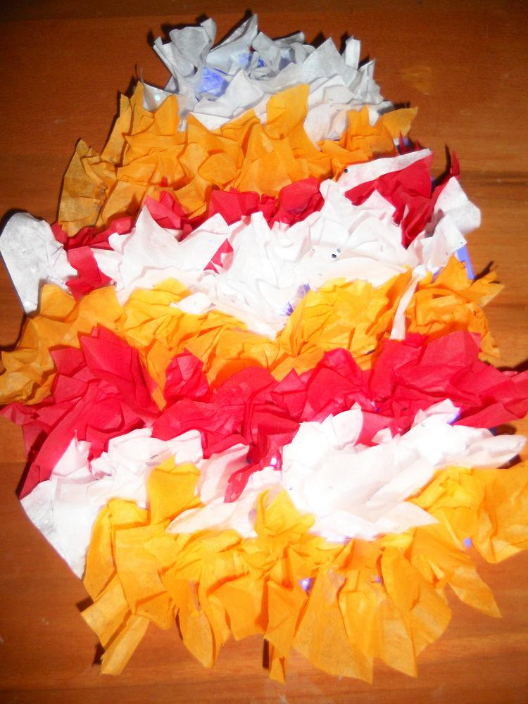 Easy and fun tissue paper crafts for kids art for Tissue paper for crafts