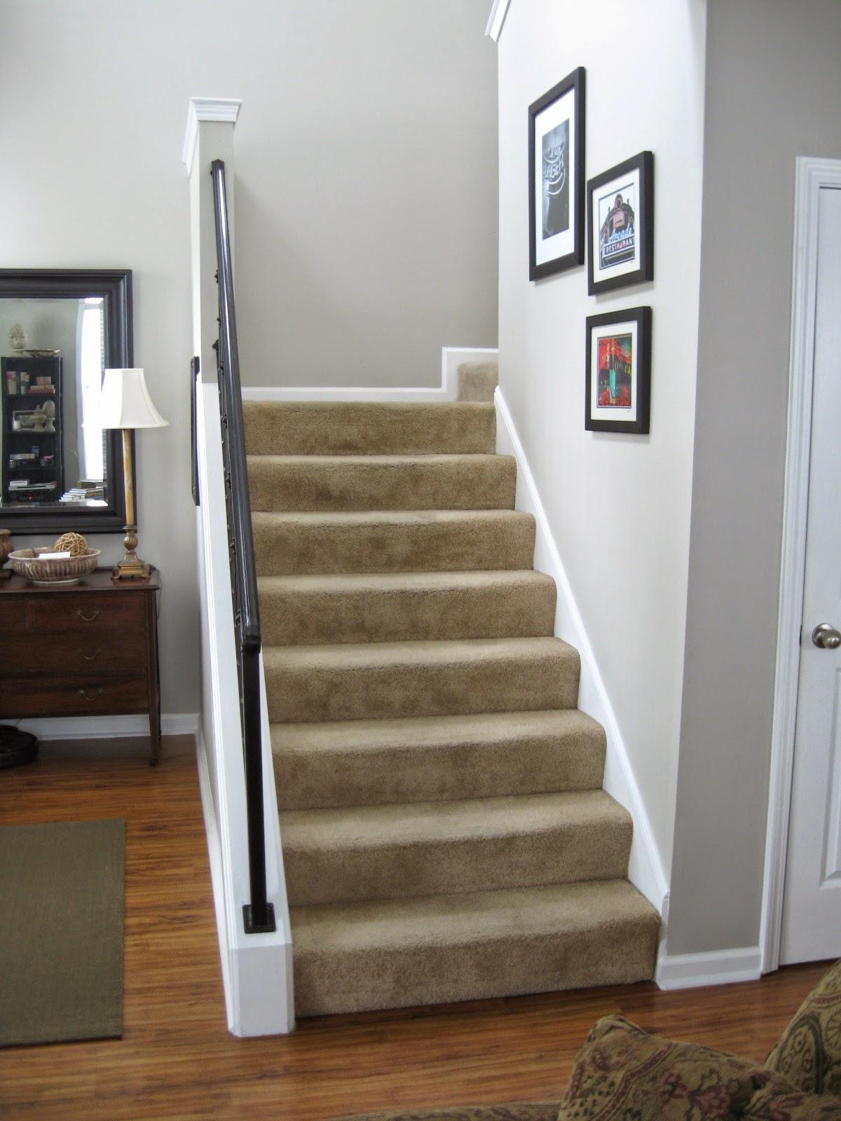 Model tangga rumah minimalis - Stairs in a small space model ...