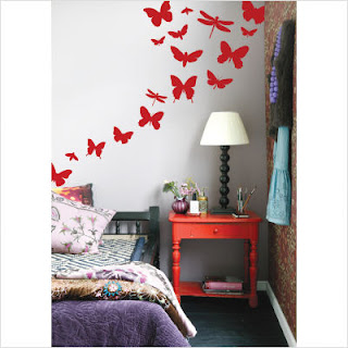 buterfly wall decals