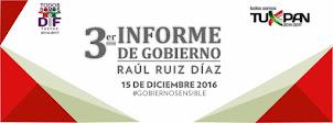TERCER INFORME DE GOBIERNO MUNICIPAL