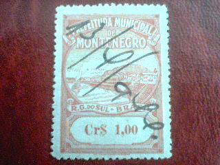 MUNICIPAL MONTENEGRO Cr$1,00