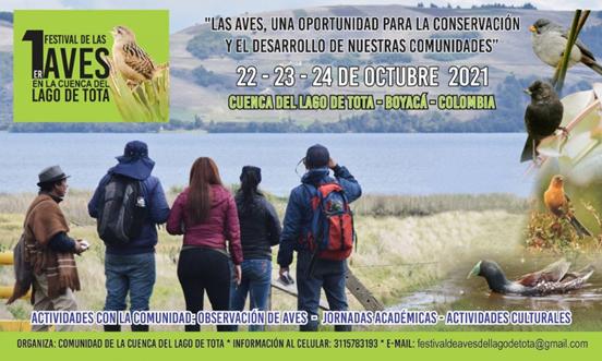 Este fin de semana habrá festival de aviturismo en el Lago de Tota