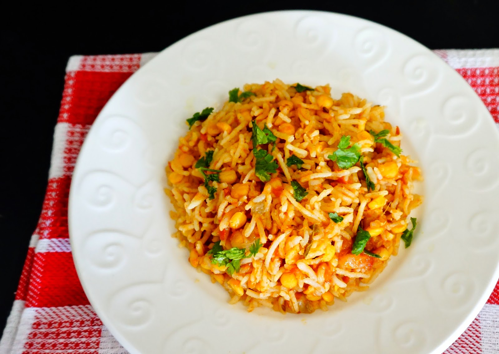 Chane ki dal ke chawal,Chana dal Khichdi,Spilt Bengal gram rice, flavoured rice, rice variety