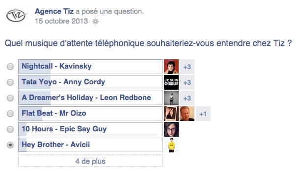 Comment faire un sondage sur Facebook