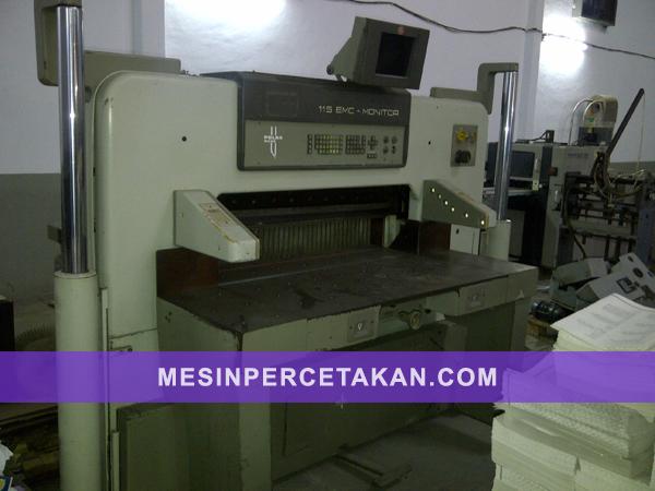 POLAR 115 EMC | Paper cutter machine