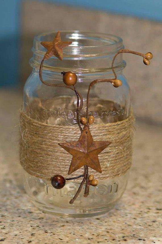 Reciclar reutilizar y reducir 18 fabulosas ideas para for Frascos decorados para navidad