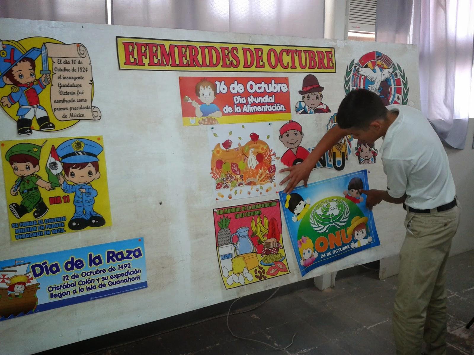 T cnica 44 periodico mural del mes de octubre for Contenido del periodico mural