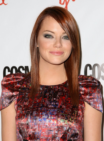emma stone red hair color. Emma Stone - Back To Red-Hair-