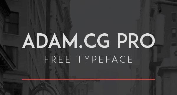 Download Font Terbaru dan Terbaik Januari 2016 - ADAM.CG Pro Free Font
