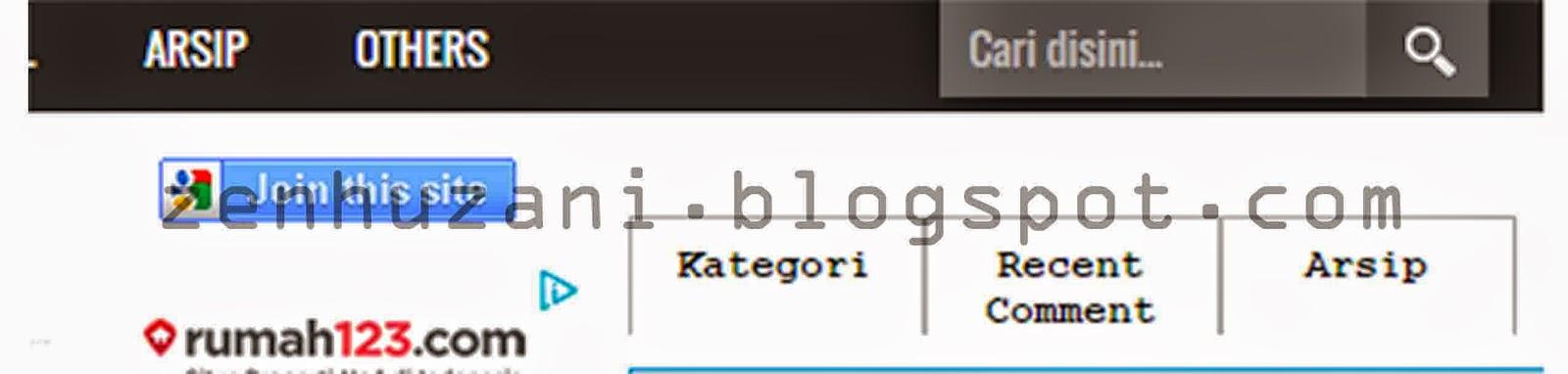 Menambah 3 Kolom Widget Di Sidebar Blog