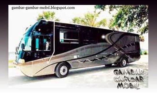 gambar mobil bus mewah
